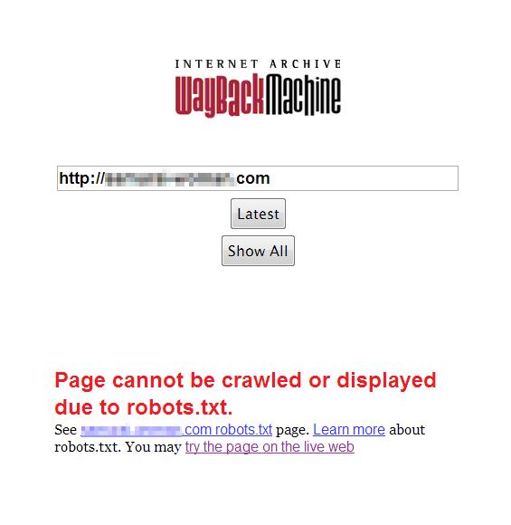web-archive